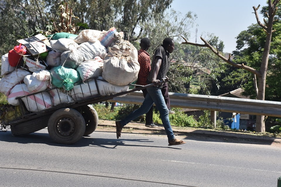Why Human-Pulled Carts Still Exist in Nairobi