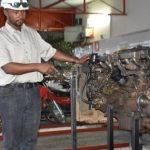 Creating an engine stand NN Group Arua Uganda